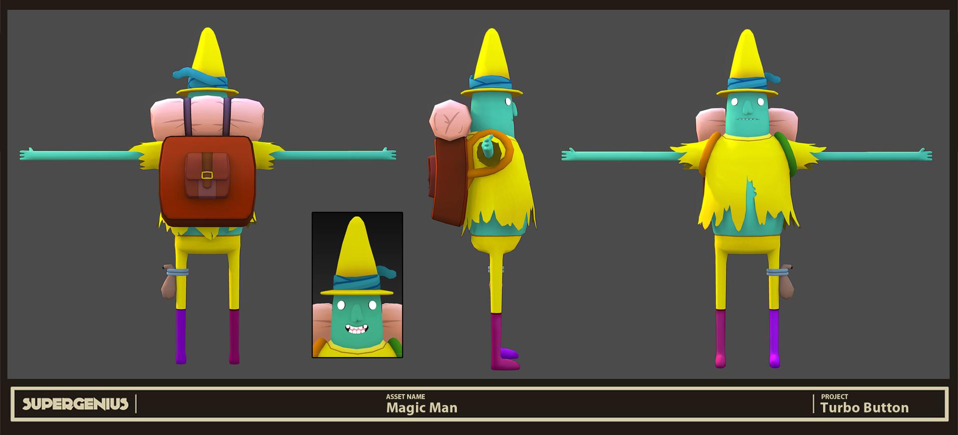 Robert Fink  Adventure Time Magic Mans Head Games for Gear VR