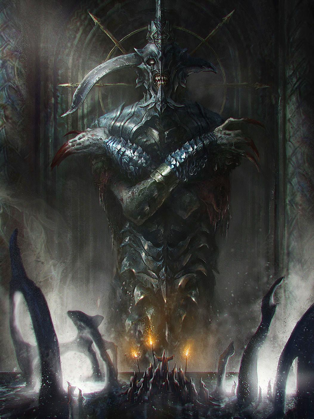 Artstation - Emperor Of Grave 1 Fred Rambaud