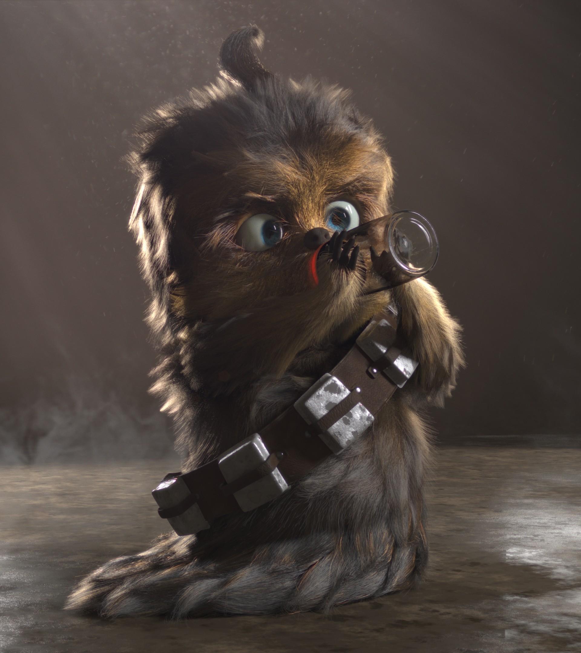Star Wars Baby Chewbacca