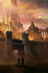 castle fantasy gate artwork artstation