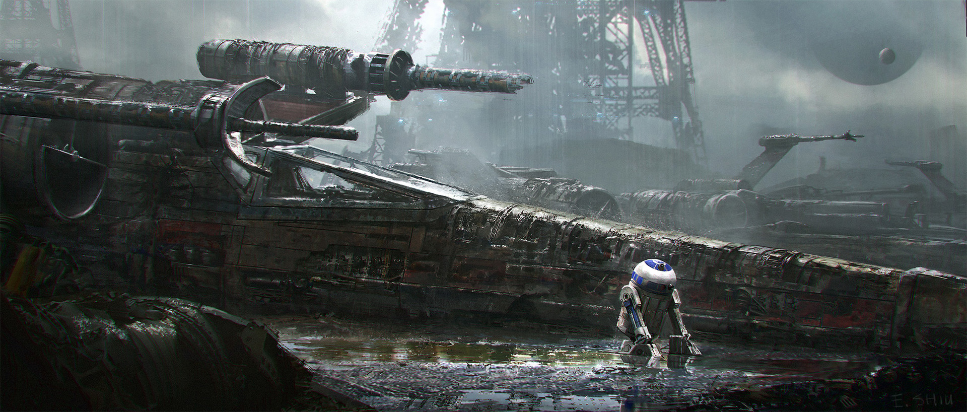 Star Wars Ships Concept Art