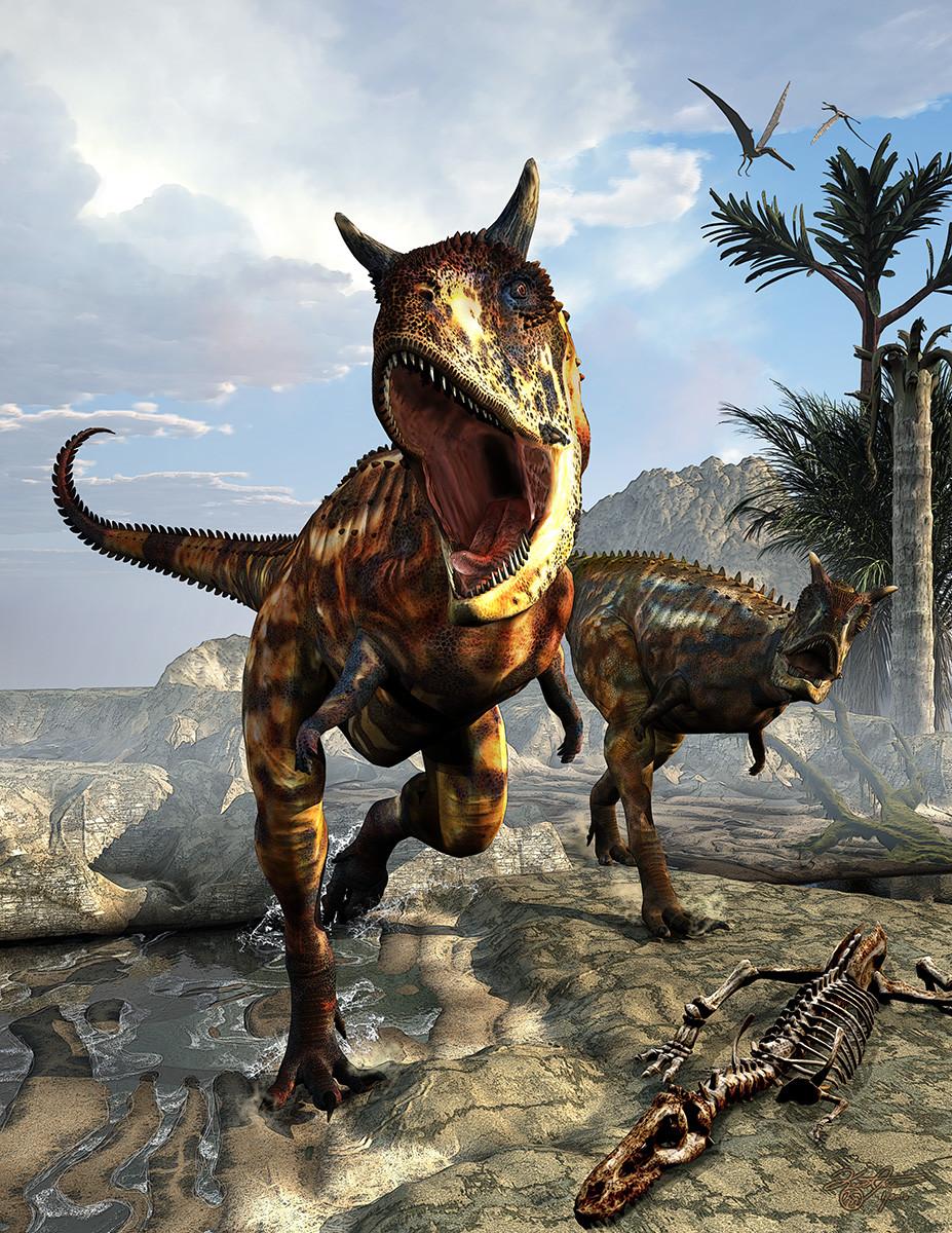 Age Dinosaurs Carnotaurus