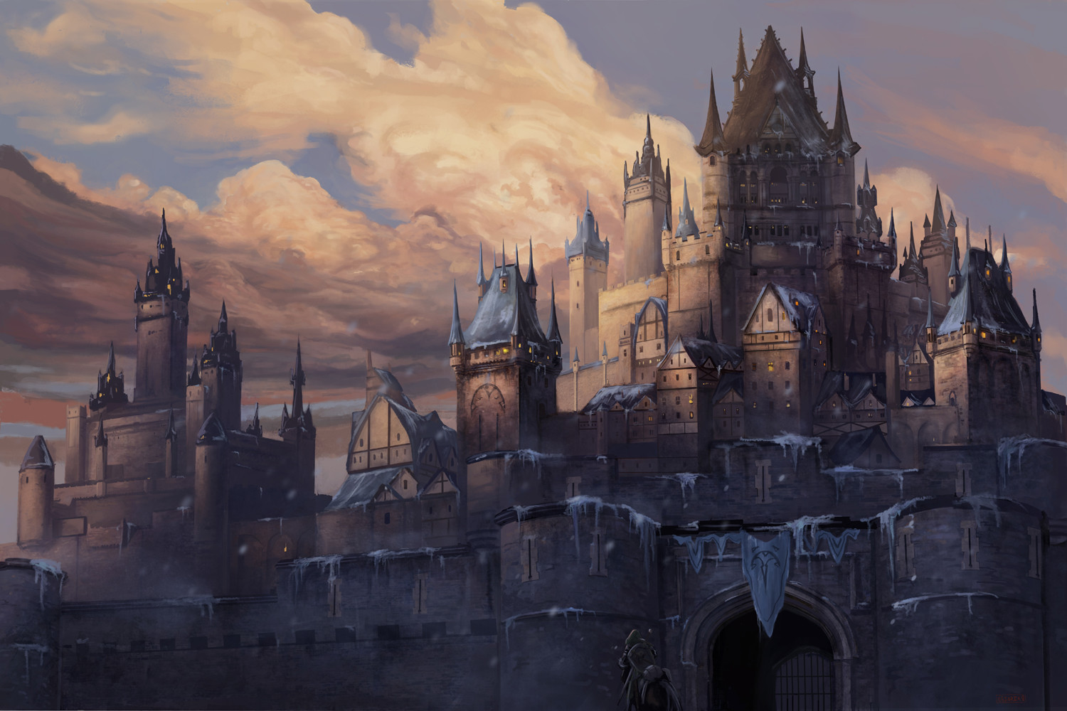 Medieval Fortress Concept Art