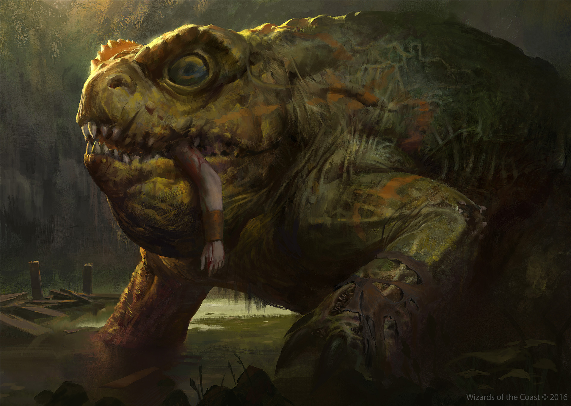 Magic The Gathering Monster Art