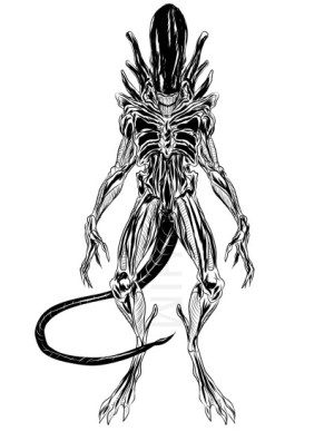 xenomorph alien drawing kyu artstation shim roblox codes fandom promo august