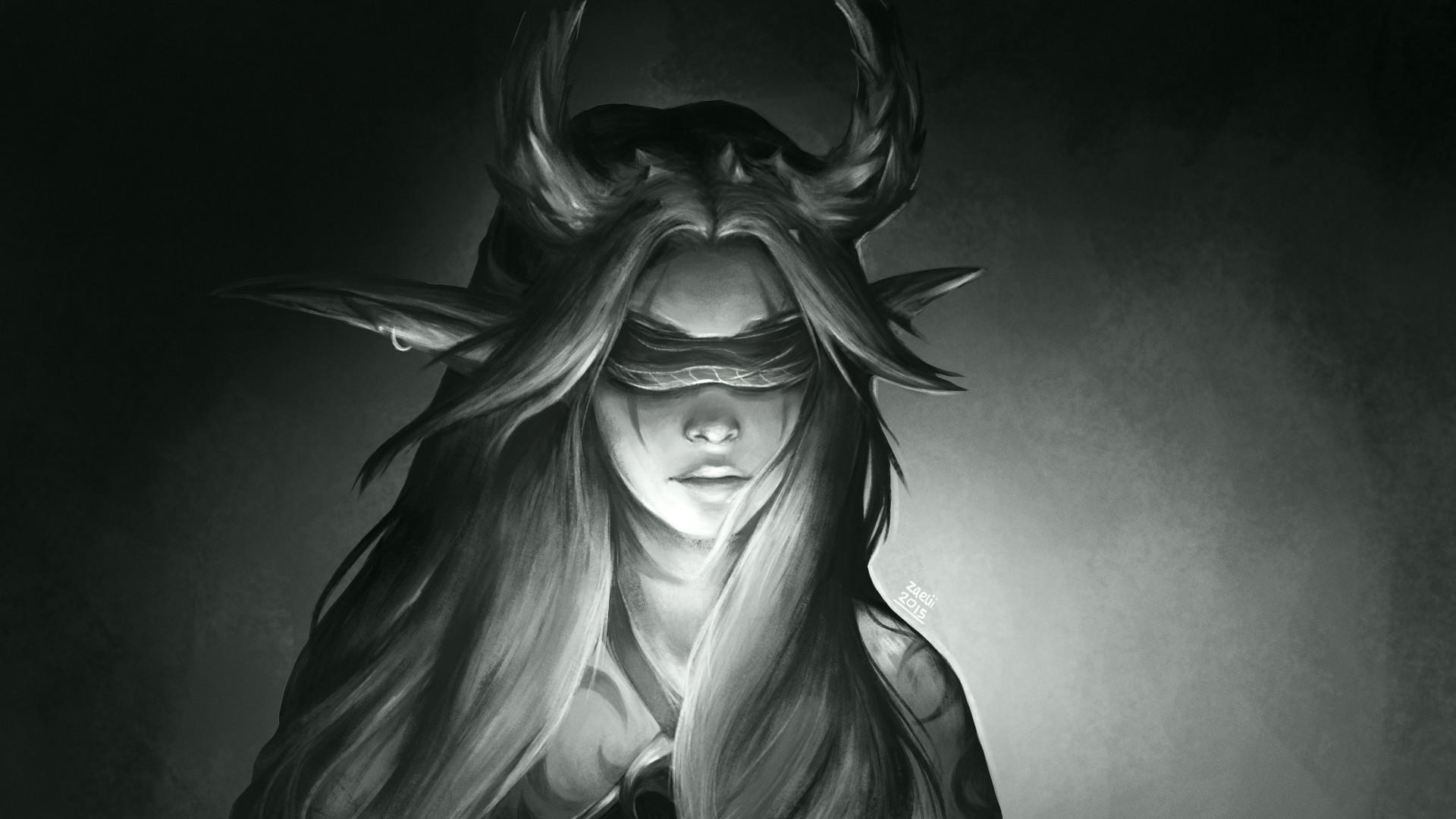Artstation - Demon Hunter Zaelii Art
