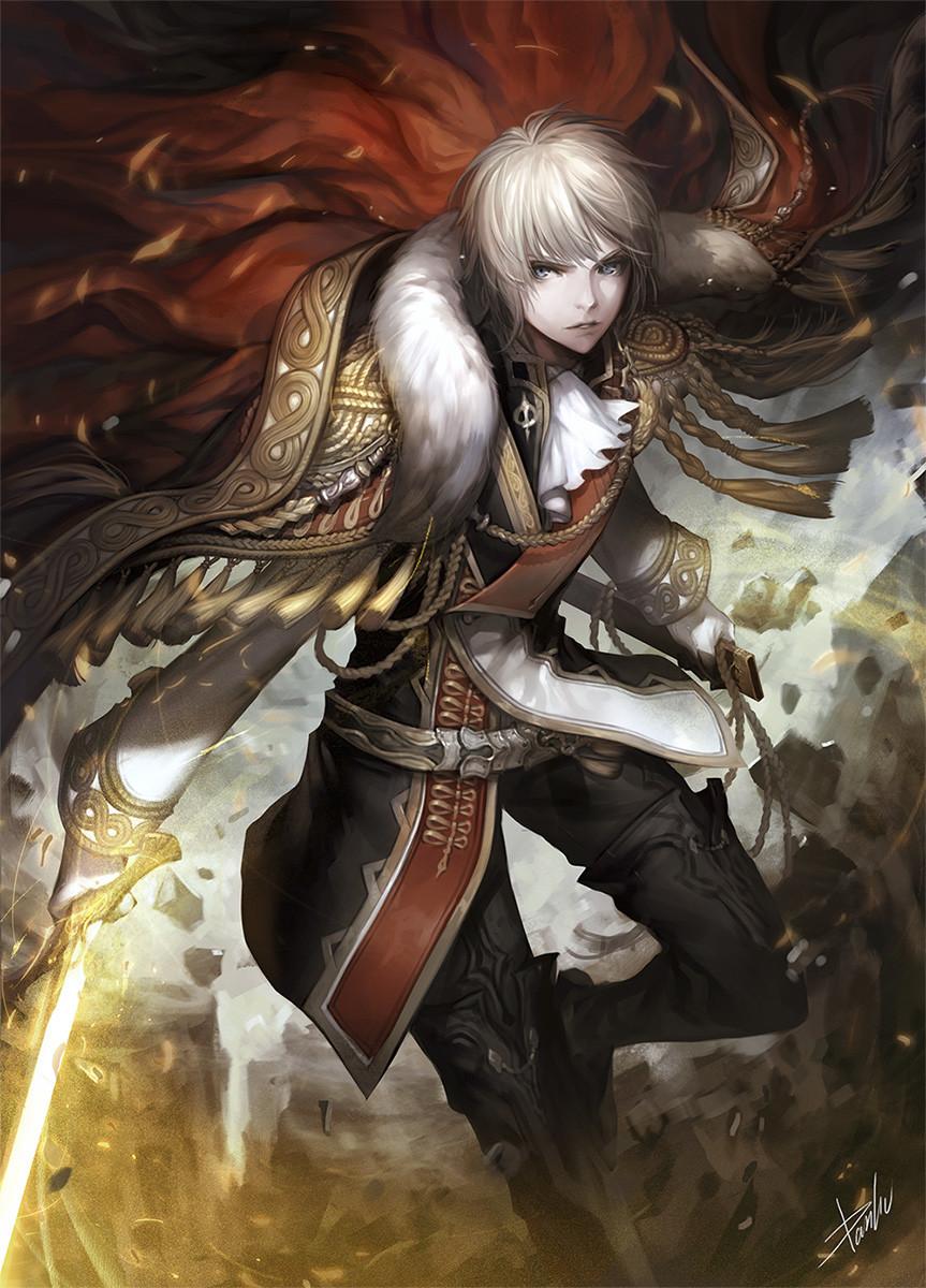 artstation - knight danhu moon