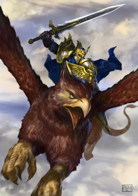ArtStation  Griffin Knight Fadly Romdhani