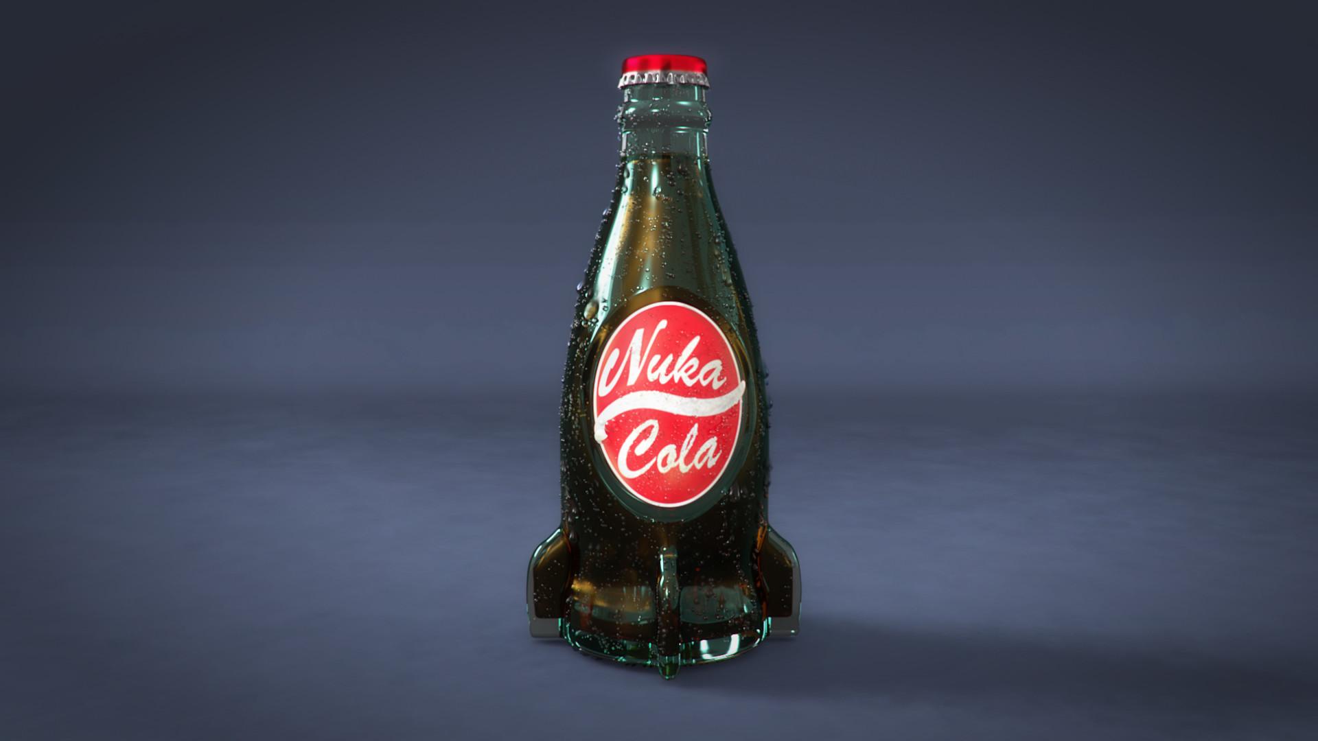 Nuka Cola Hd Wallpaper Artstation Nuka Cola Oscar Velasco