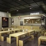 Artstation Ramen Bar Restaurant Concept Rendering Sang Lee