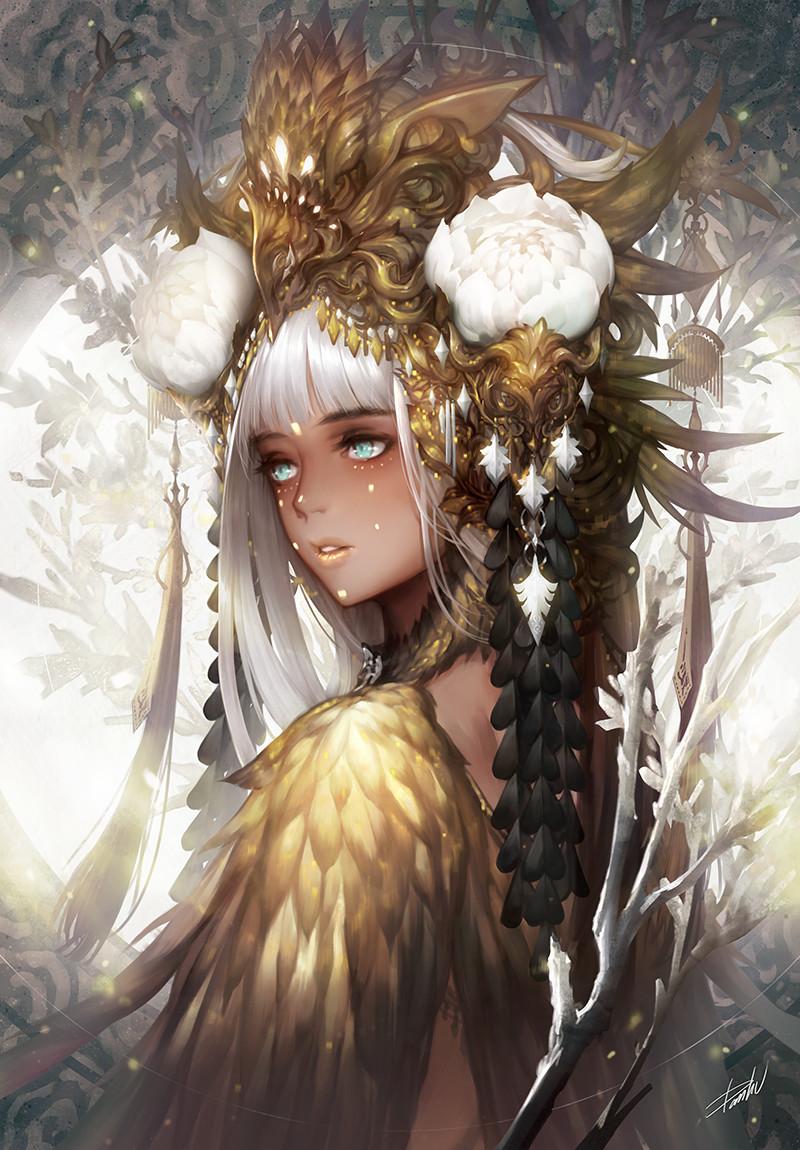 artstation - gold danhu moon