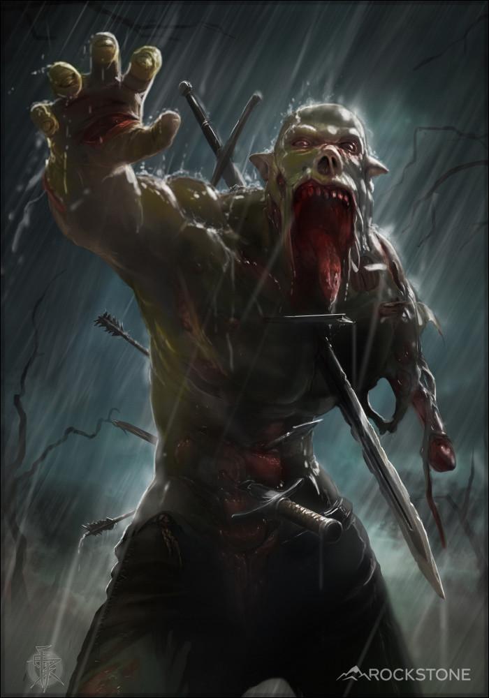 ArtStation  Zombie Orc Alexey Kirsanov