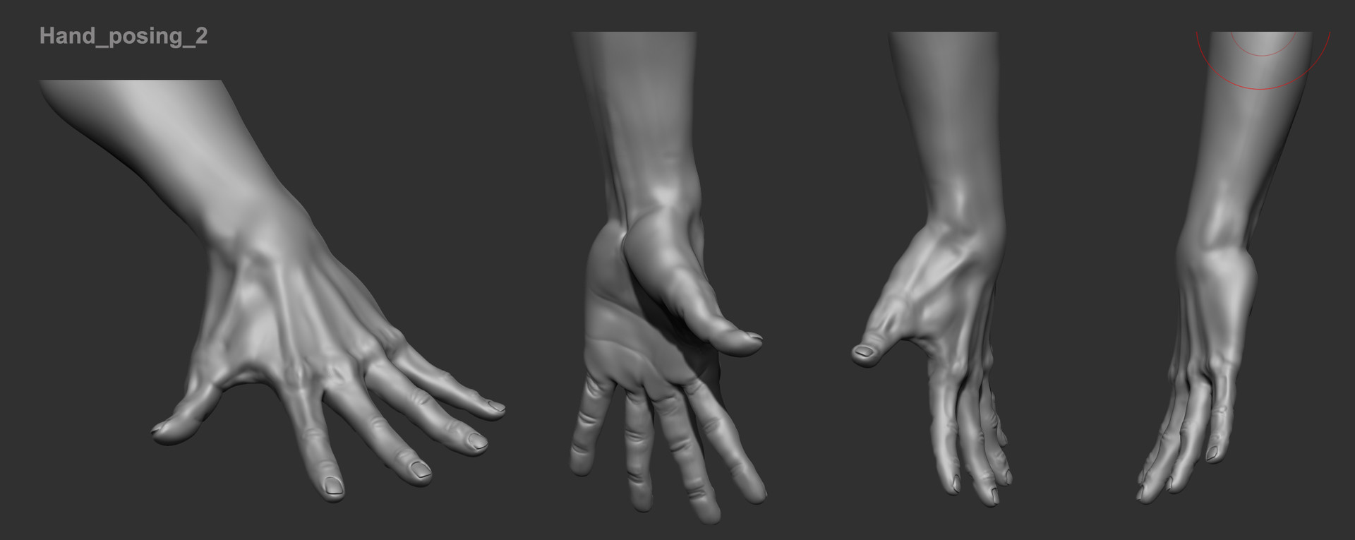 artstation human anatomy studies