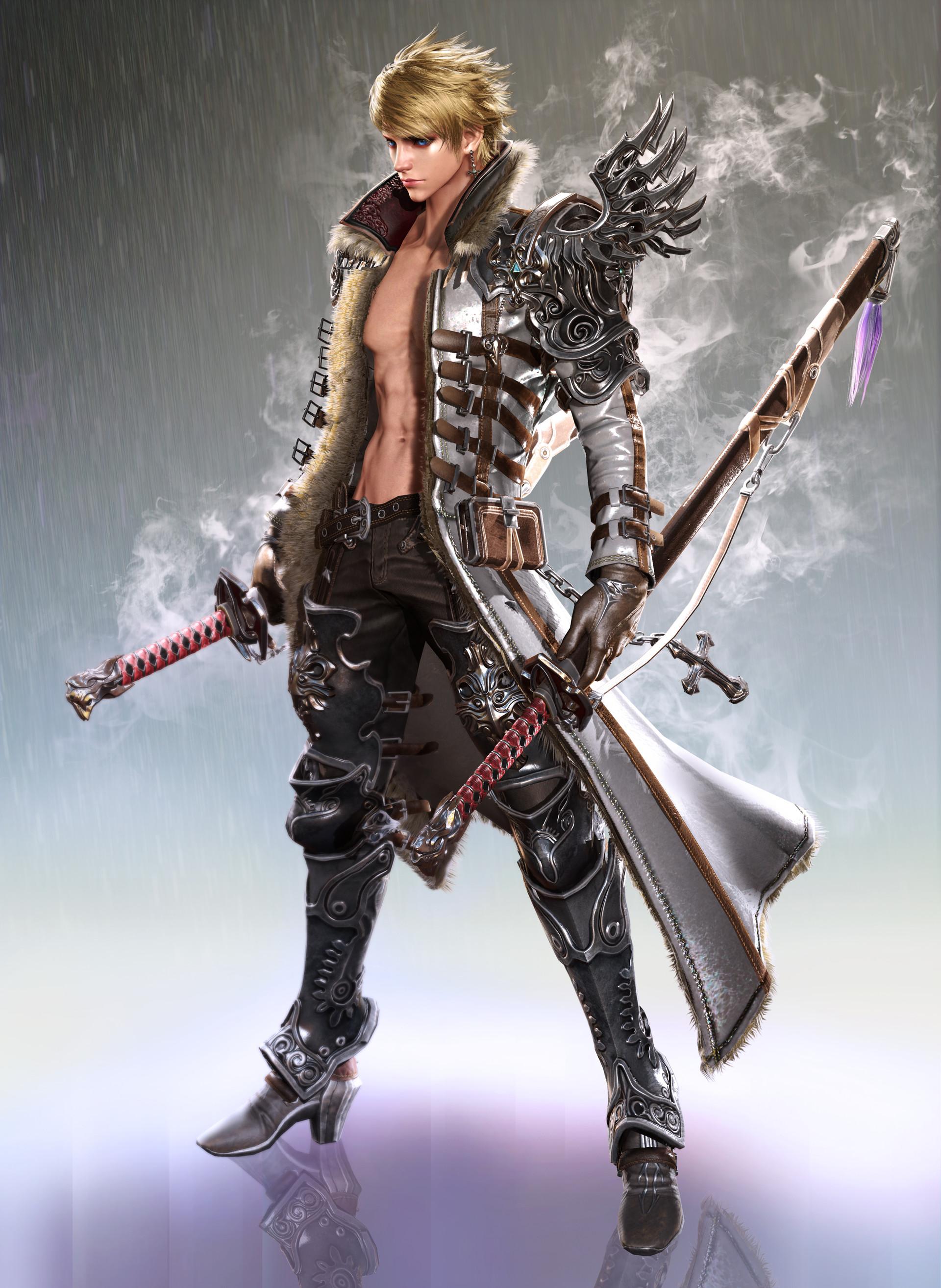 Art Station Swords Concept Art