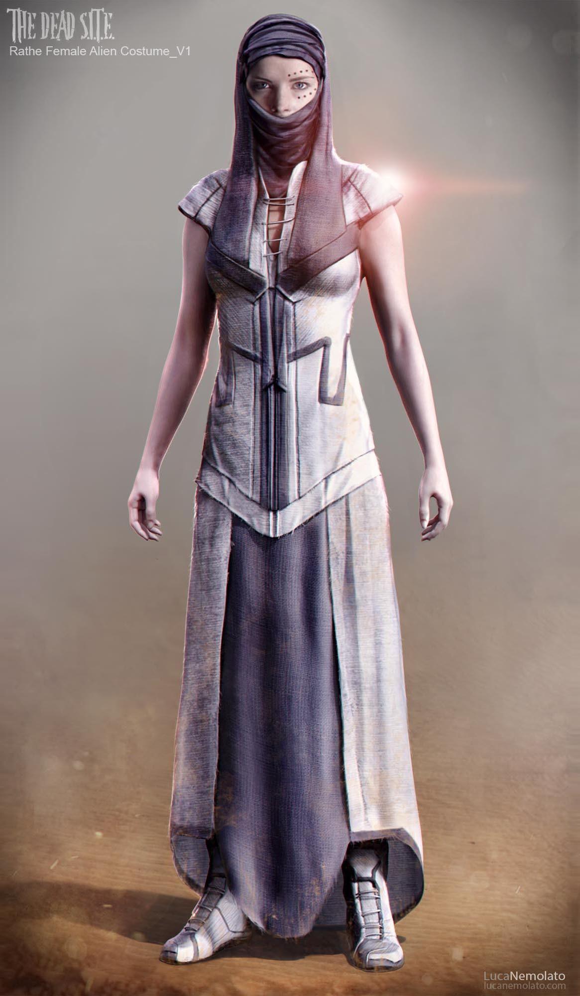 Female Alien Costume
