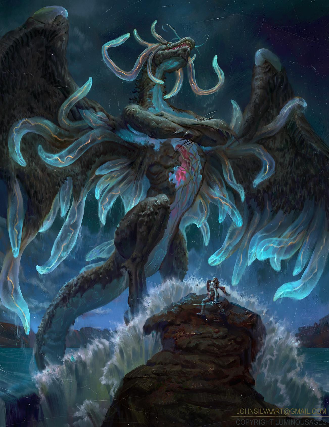Dragon Art Mythical Creatures