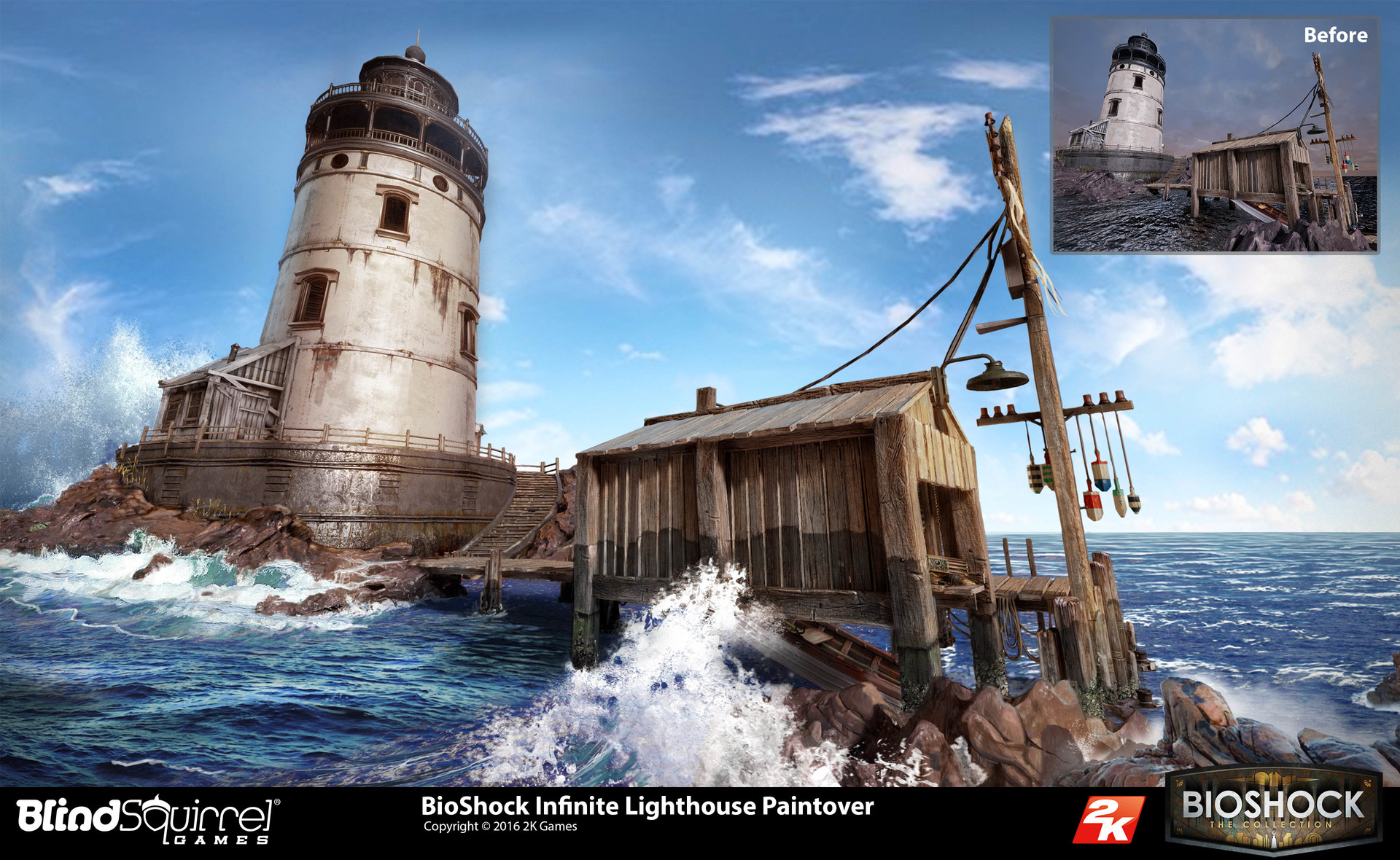 Jeff Zugale BioShock Collection The Lighthouses