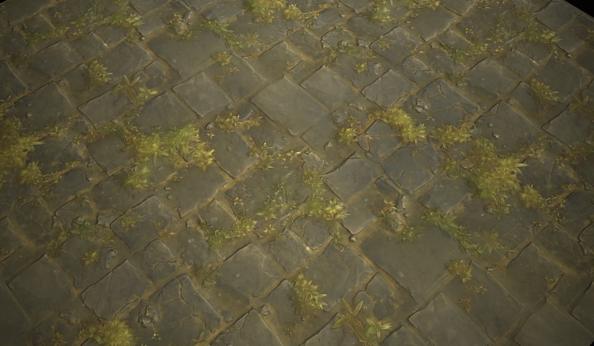 Hugo Beyer  Stylized stone floor  Substance Designer