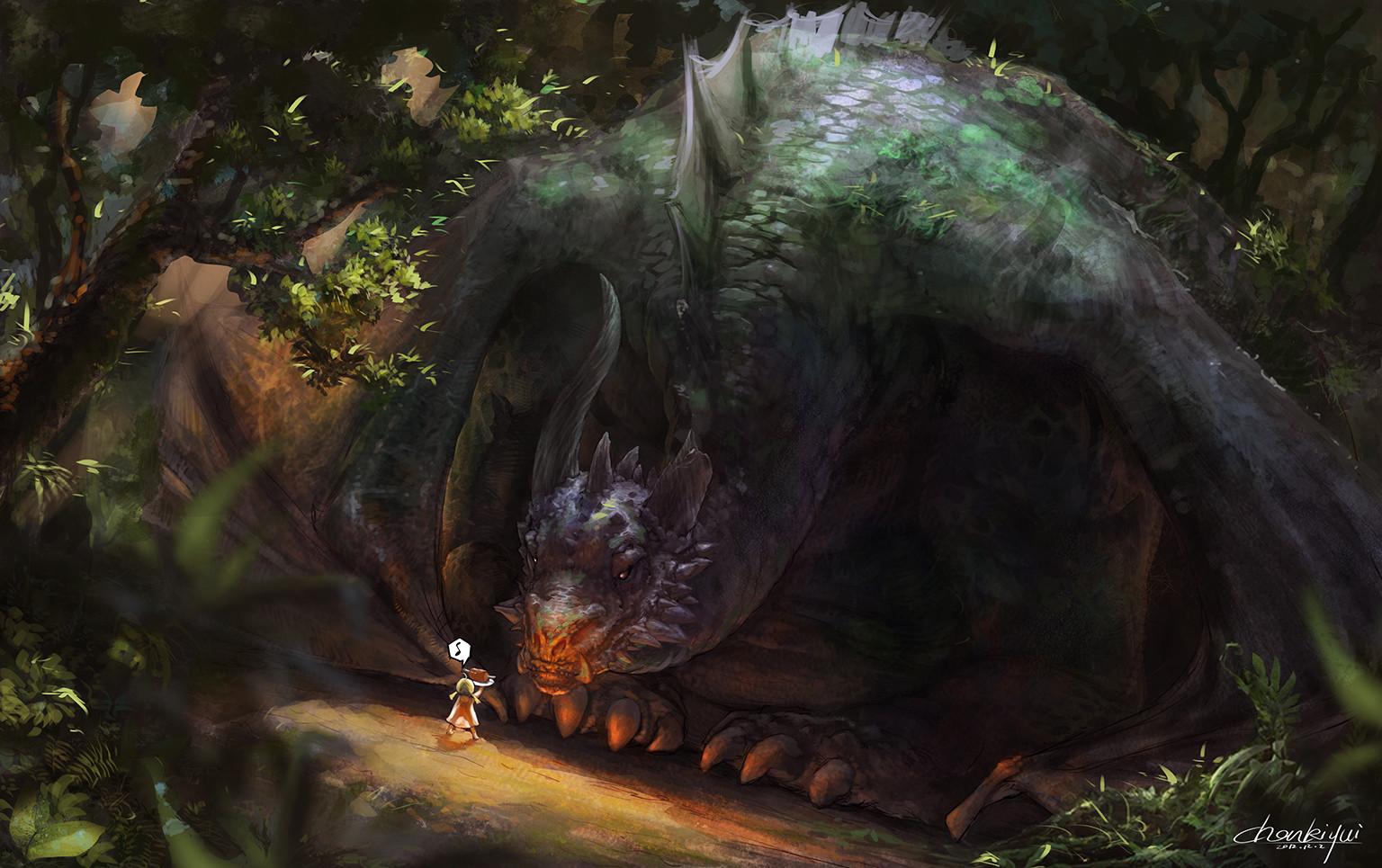Artstation Fat Dragon 7 Yue