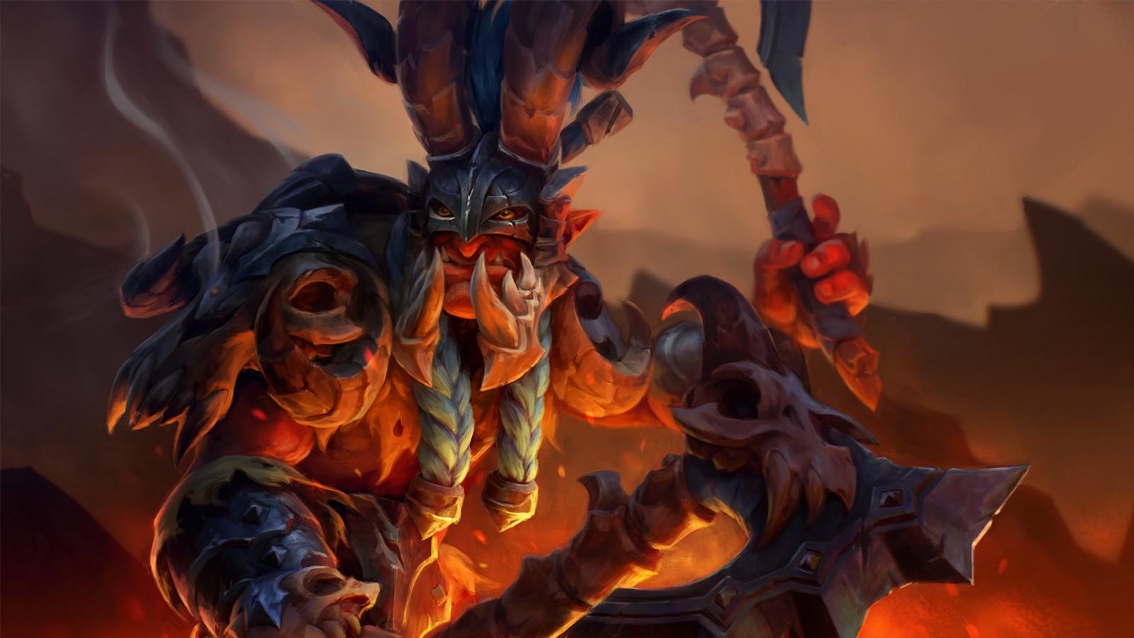 ArtStation Wyvern Bone Battle Armor Troll Warlord Set Kyle Cornelius