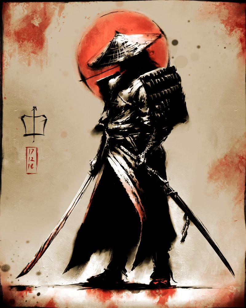 2 Pencil Warrior Black No
