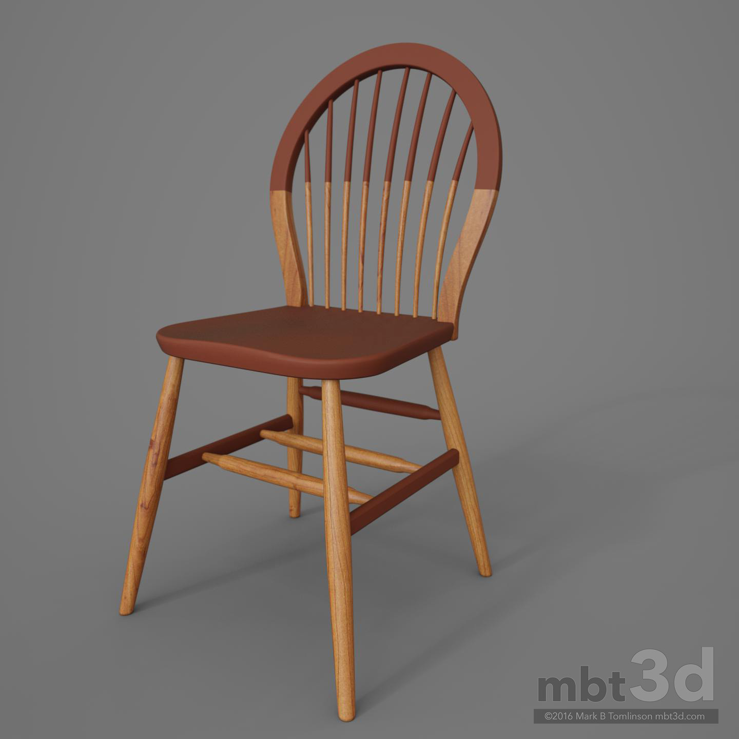 round wooden chair counter high table and chairs artstation back mark b tomlinson red