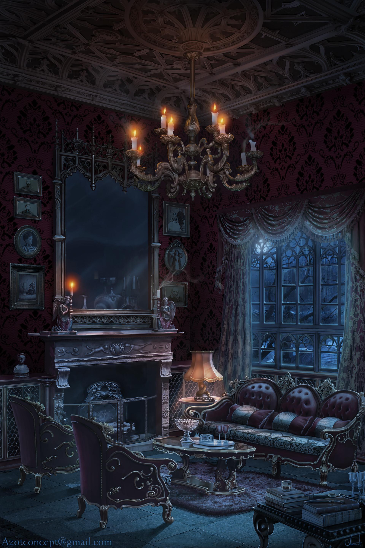 Interieur Maison Dessin