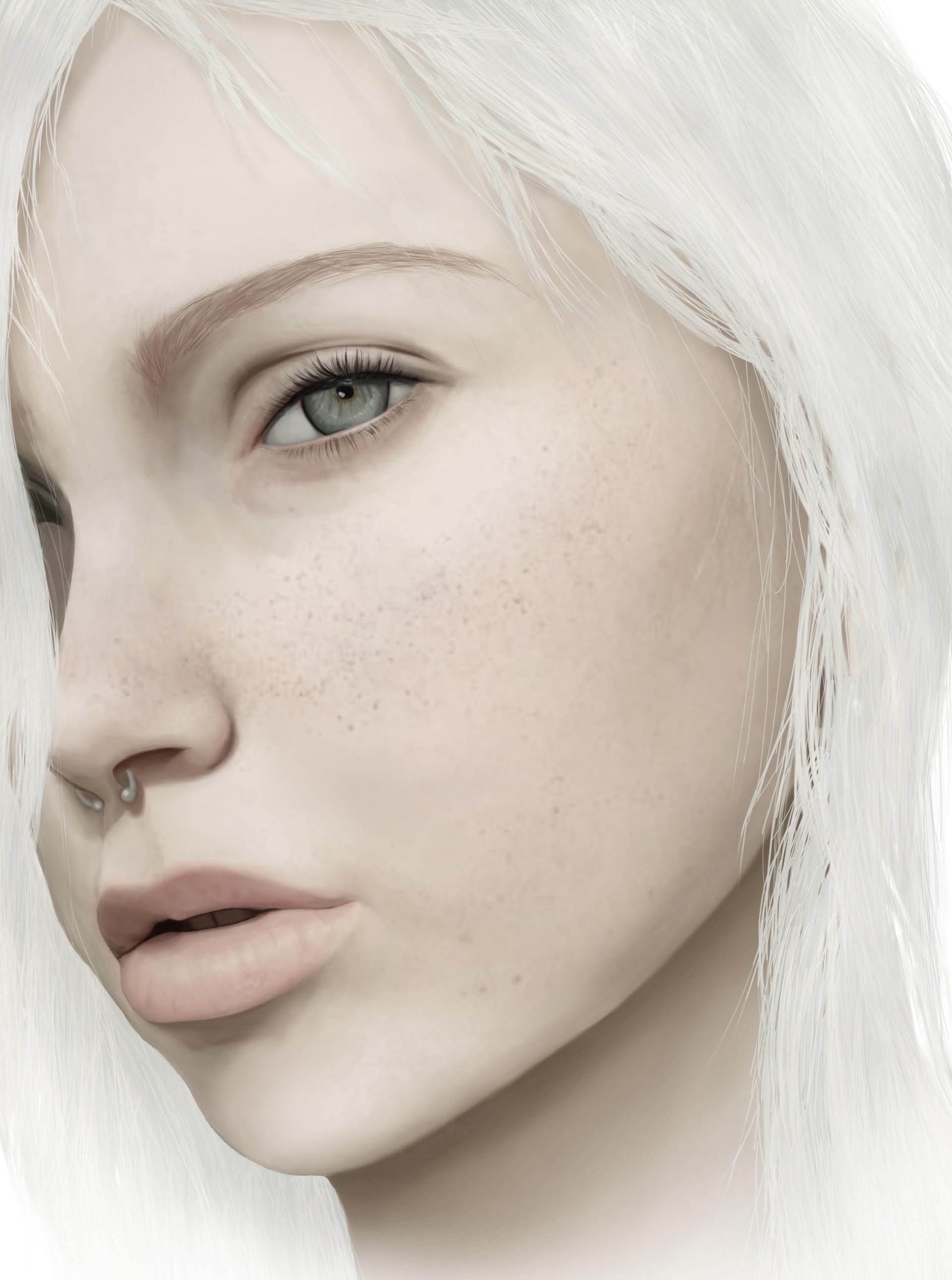 ArtStation - Jude Karda Portrait . Jacky Hansen