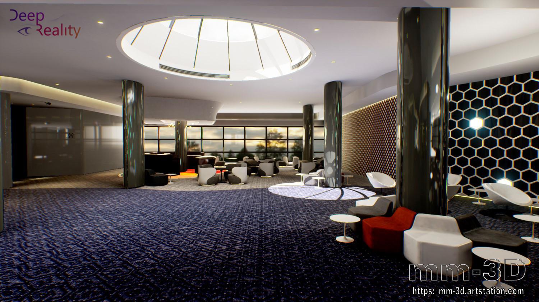 Miguel Martin - Modern Hotel Lobby