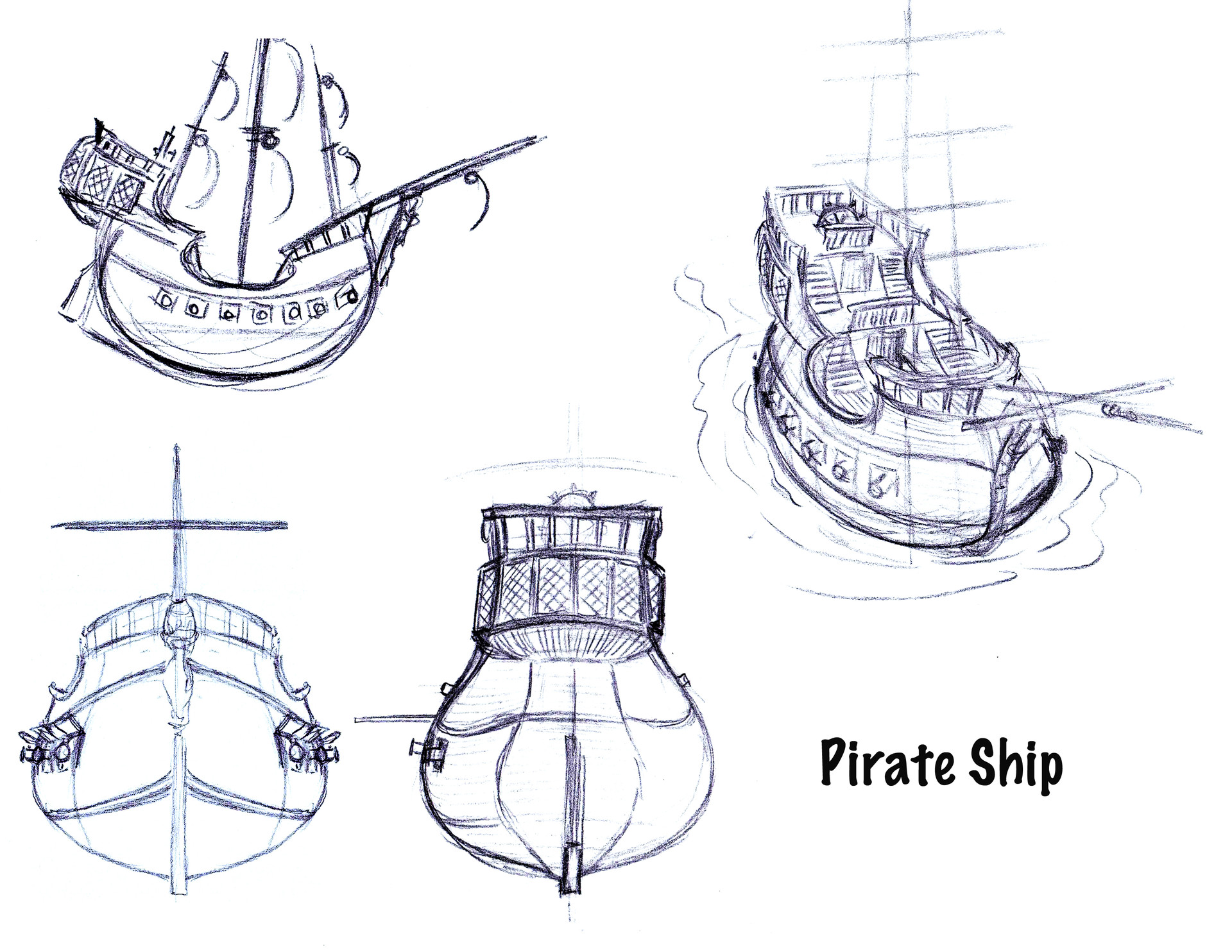 small resolution of brian lemay pirate ship