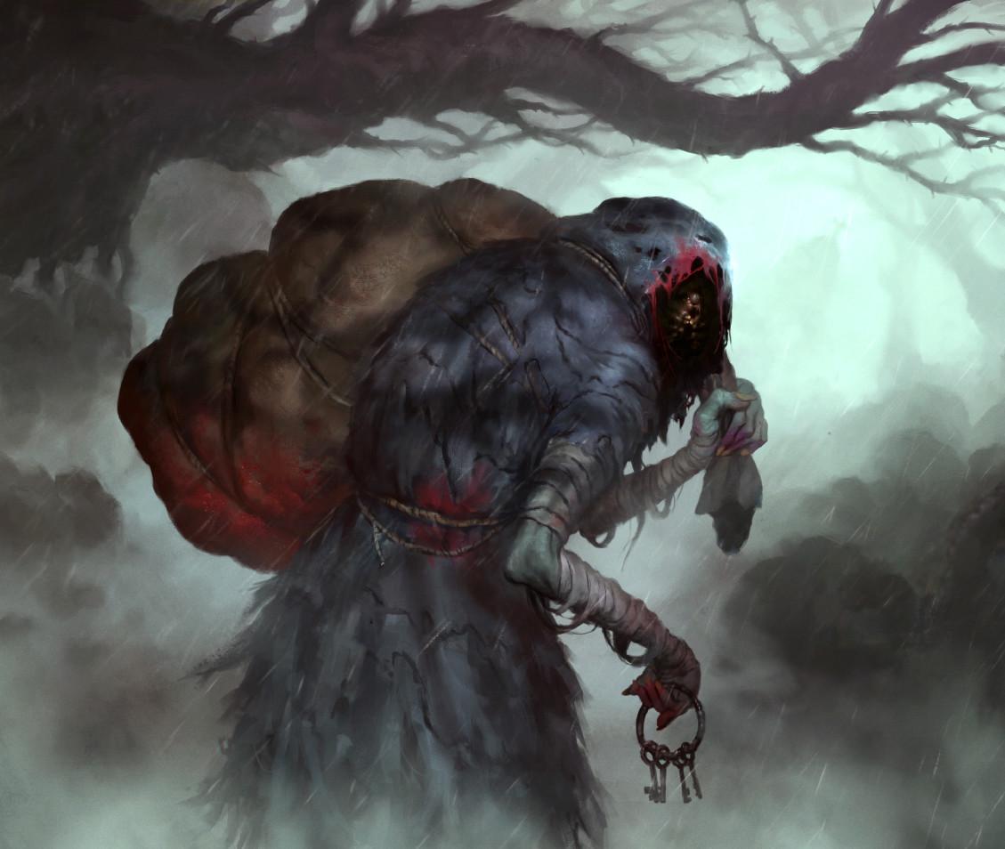 Artstation Arkham Horror Kidnapper Sam Lamont