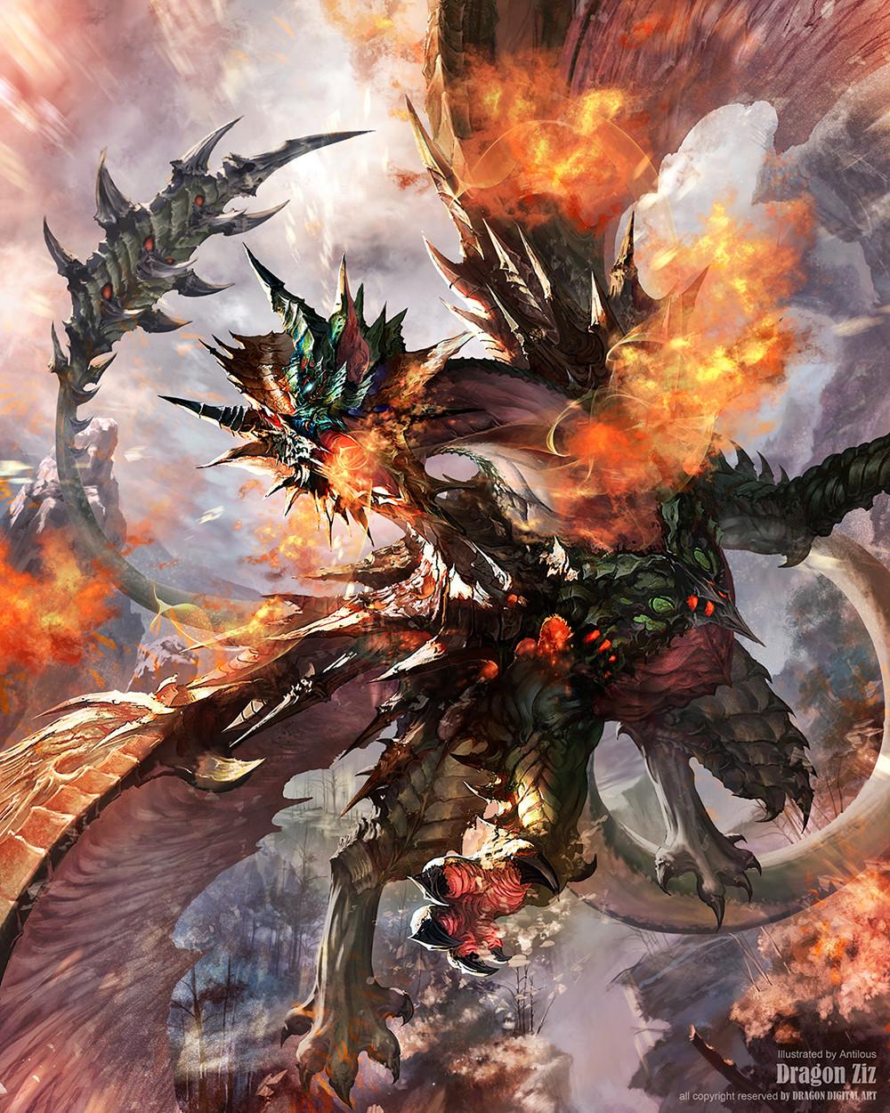 Artstation - Dragon Ziz Antilous Chao
