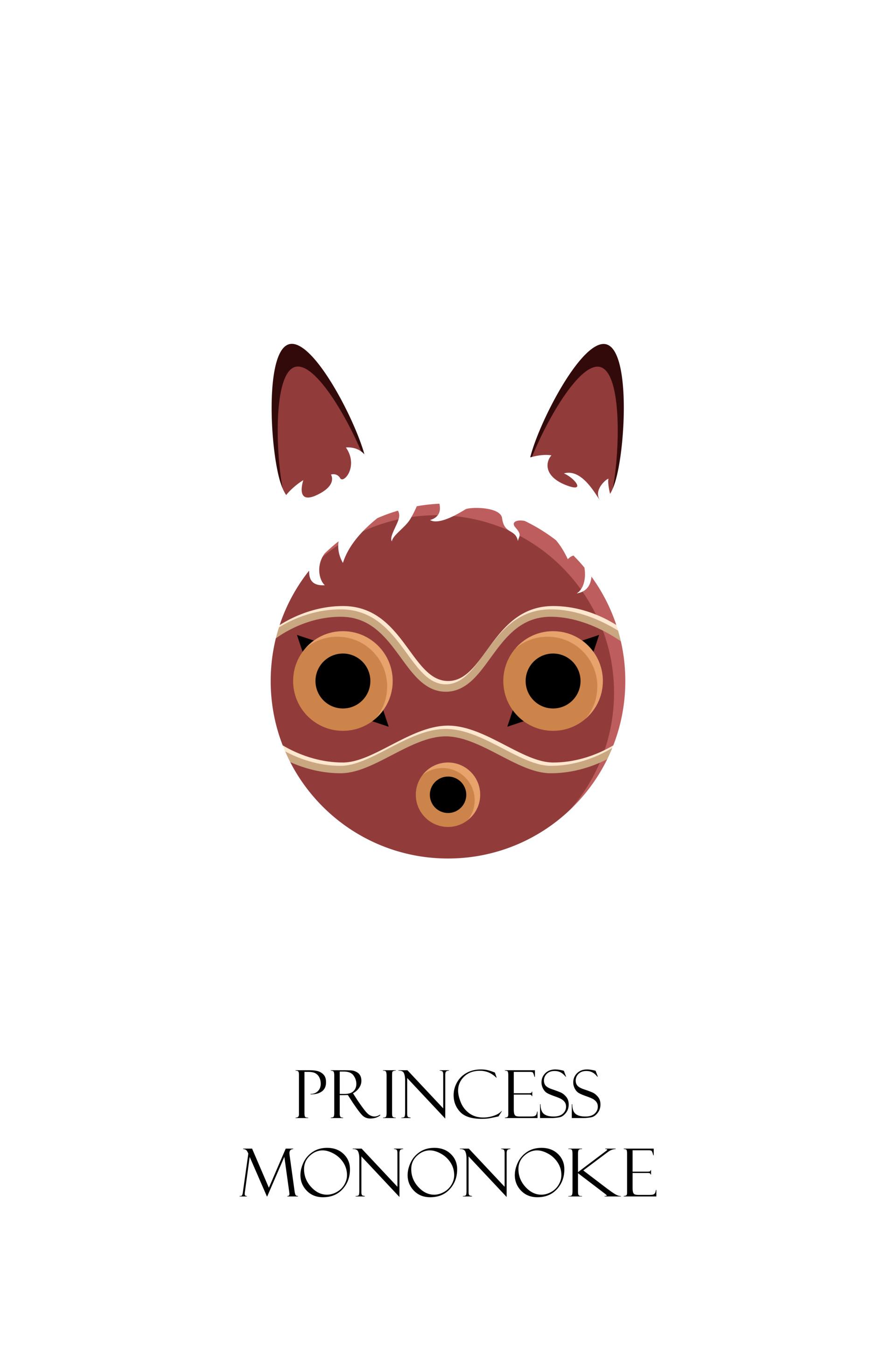 princess mononoke poster robert wittmann