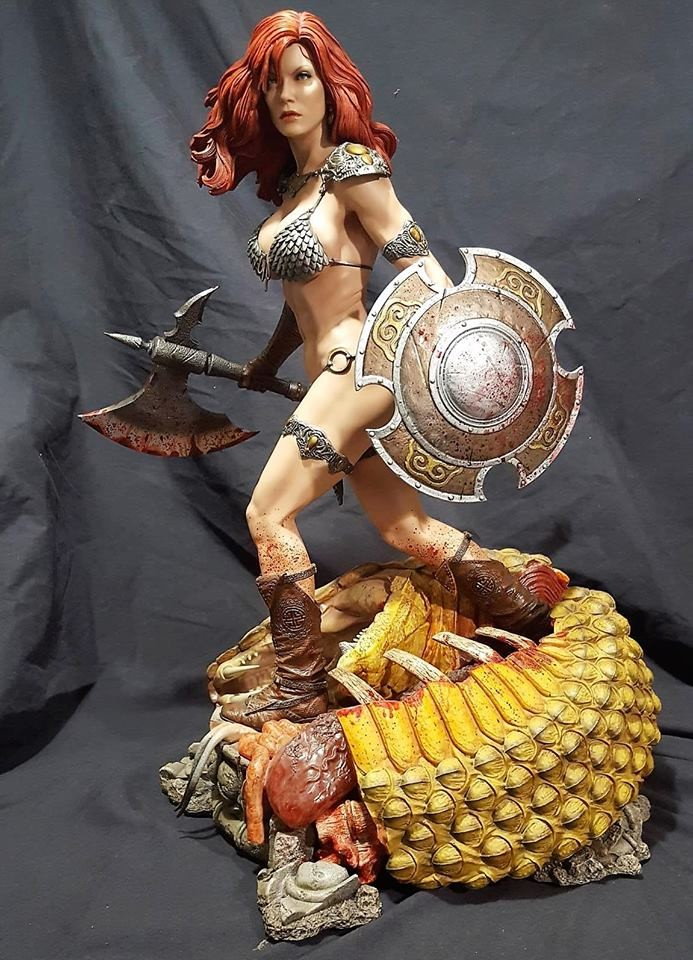 Gaurav Kumar Red Sonja She Devil SHIELD