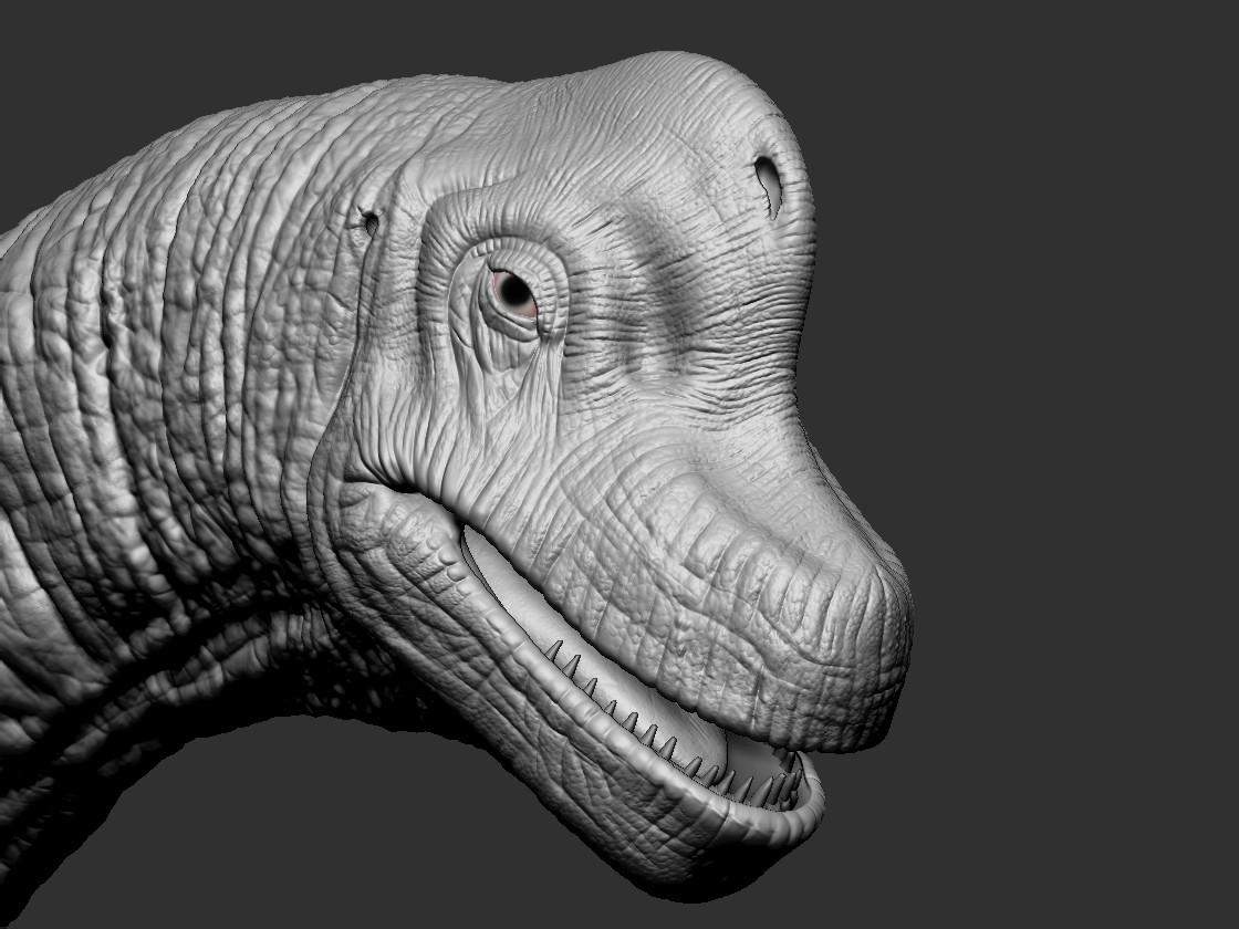 Tomáš Križan Brachiosaurus