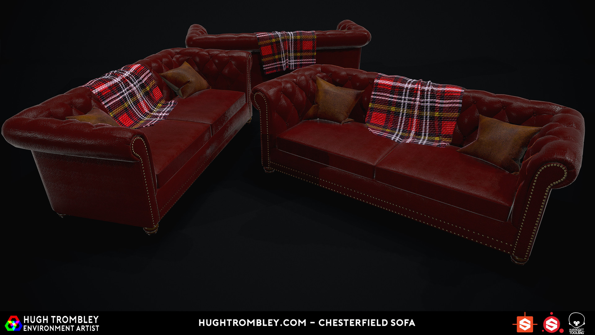tartan chesterfield sofa foot massage hugh trombley 3d environment artist shot03