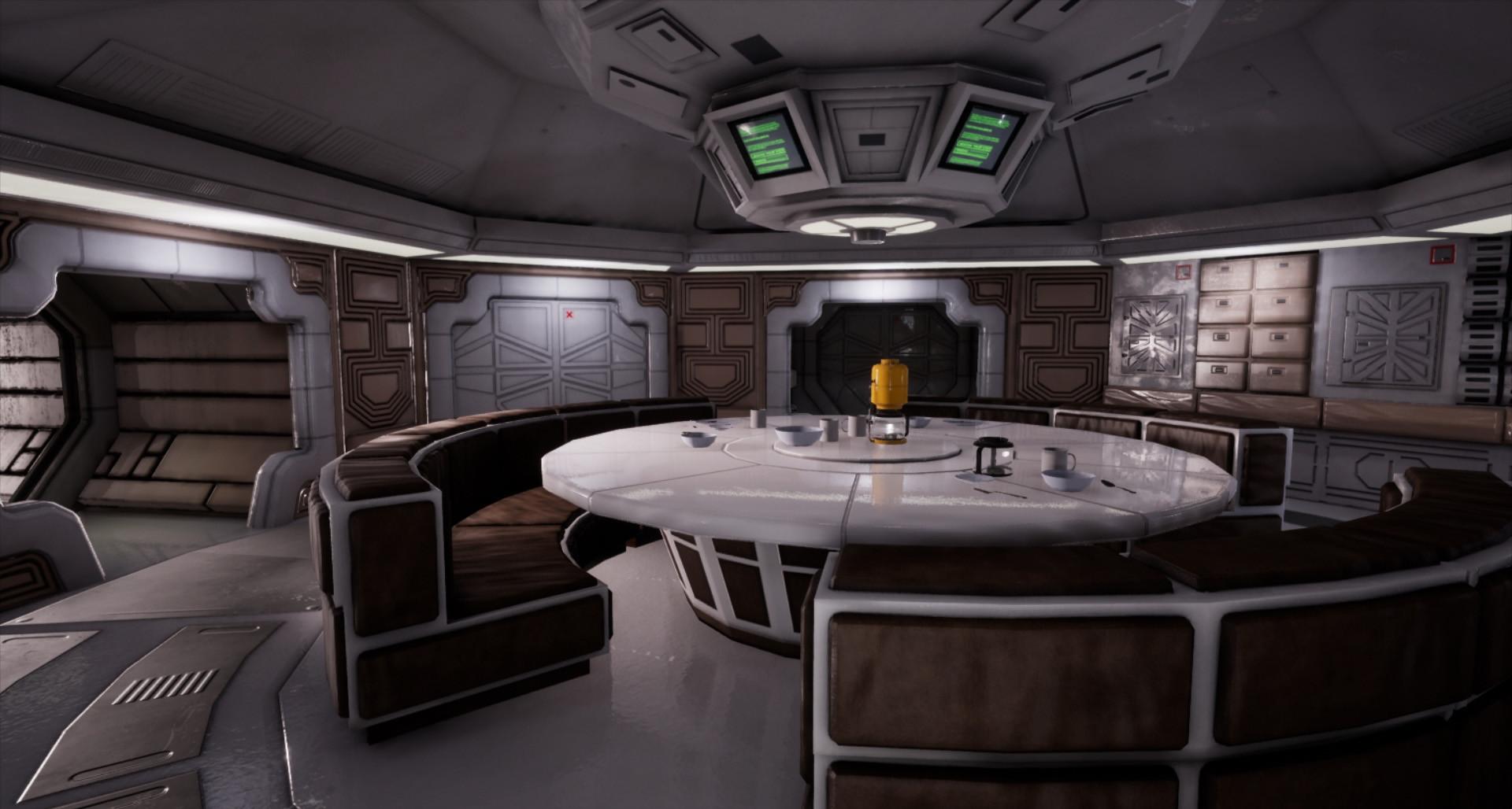 ArtStation  Alien Nostromo Kitchen Kimberly Wagner