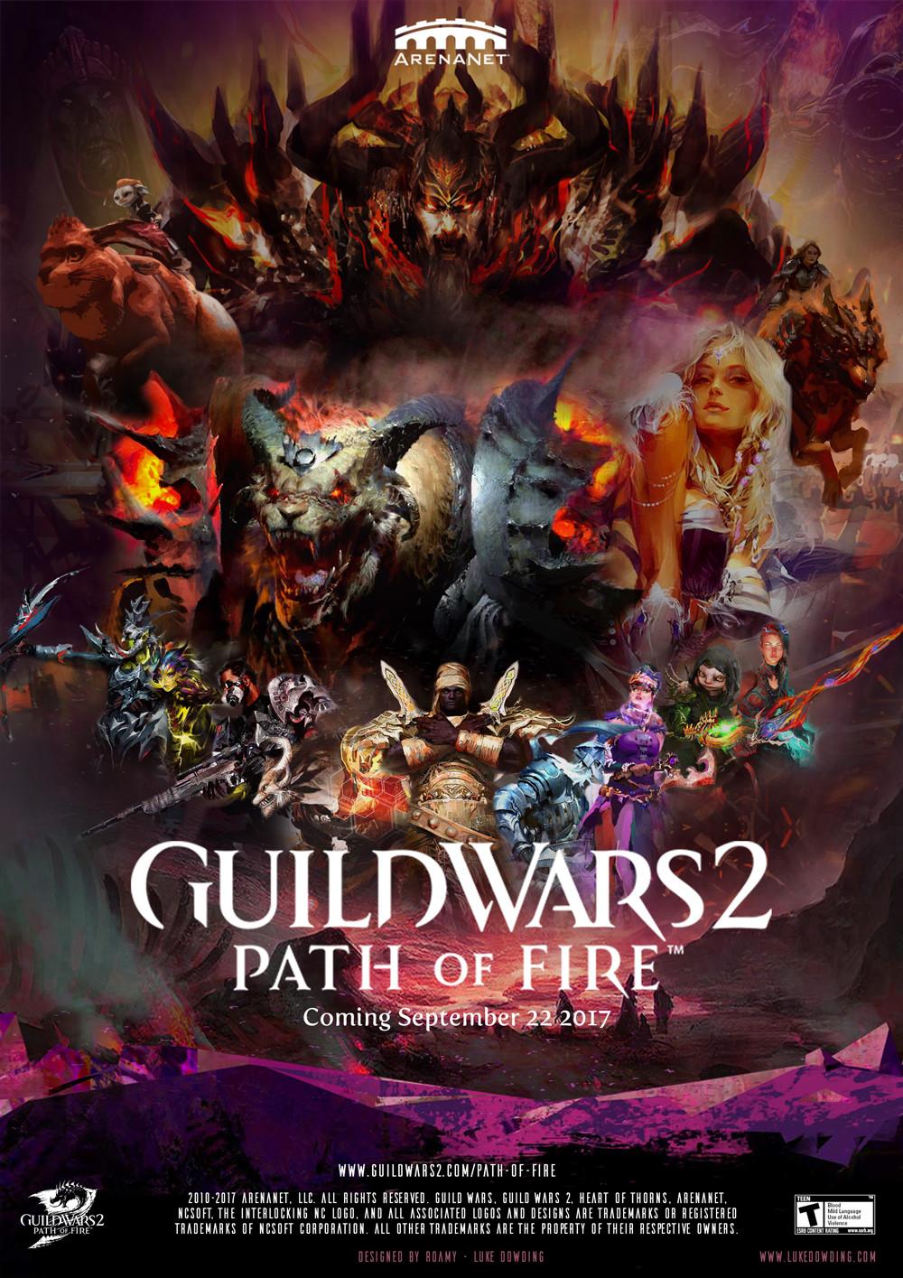 artstation guild wars 2