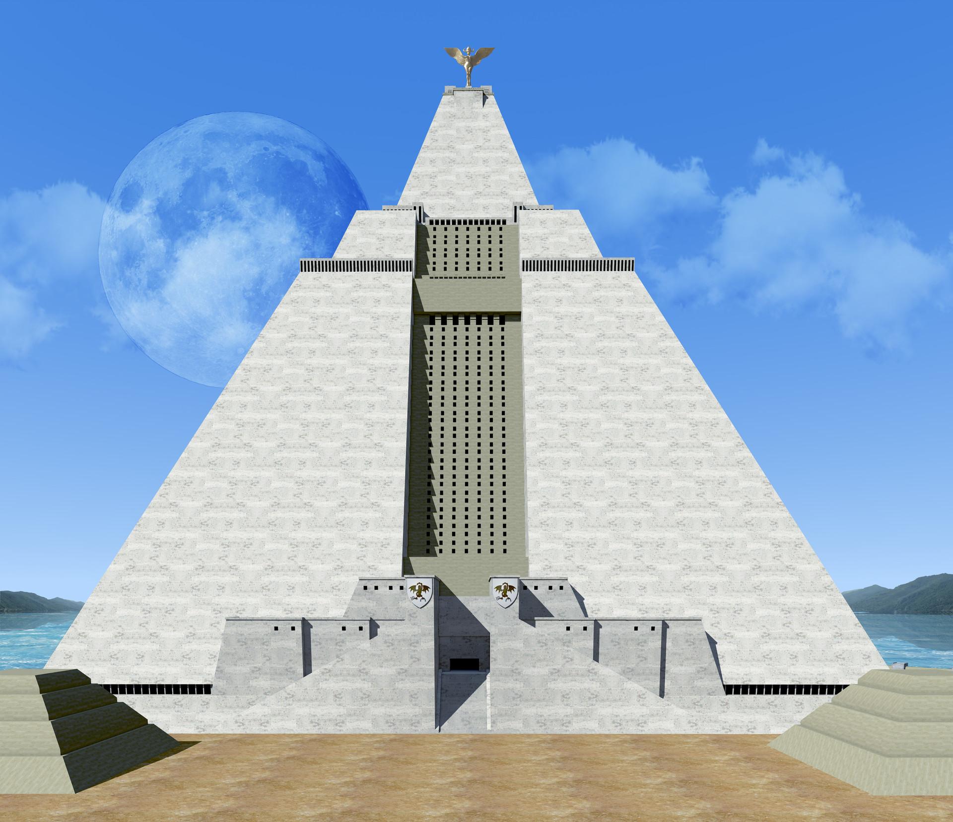 ArtStation Great Pyramid Of MEEREEN Nicola Mancone