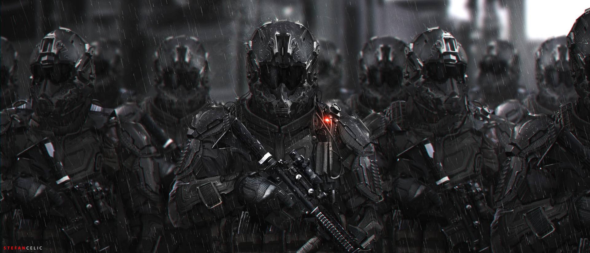 Wallpaper Killzone Shadow Fall Stefan Celic Trinity Soldiers
