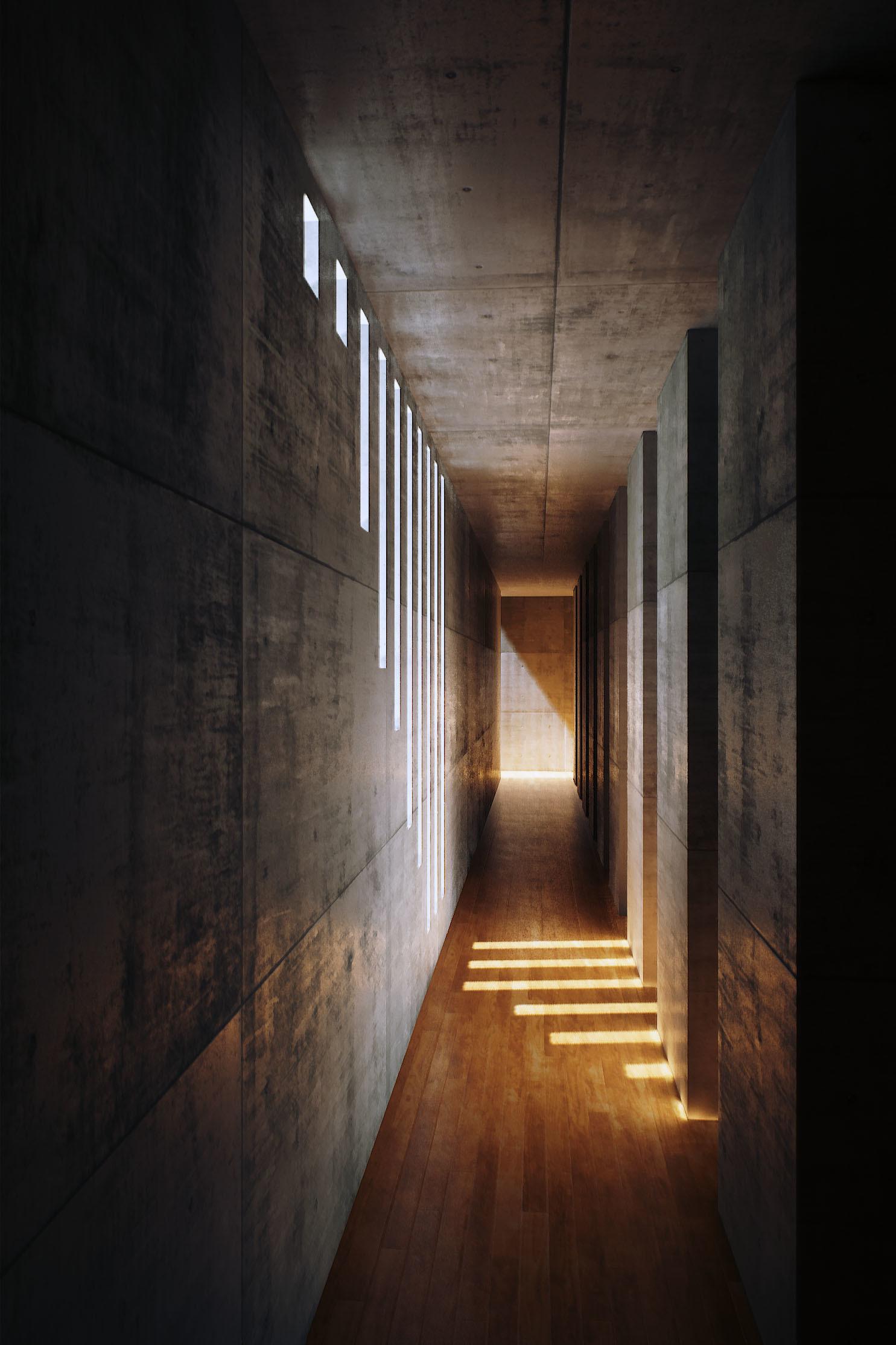 mine yilmazulas portfolio  Tadao Andos Koshino House