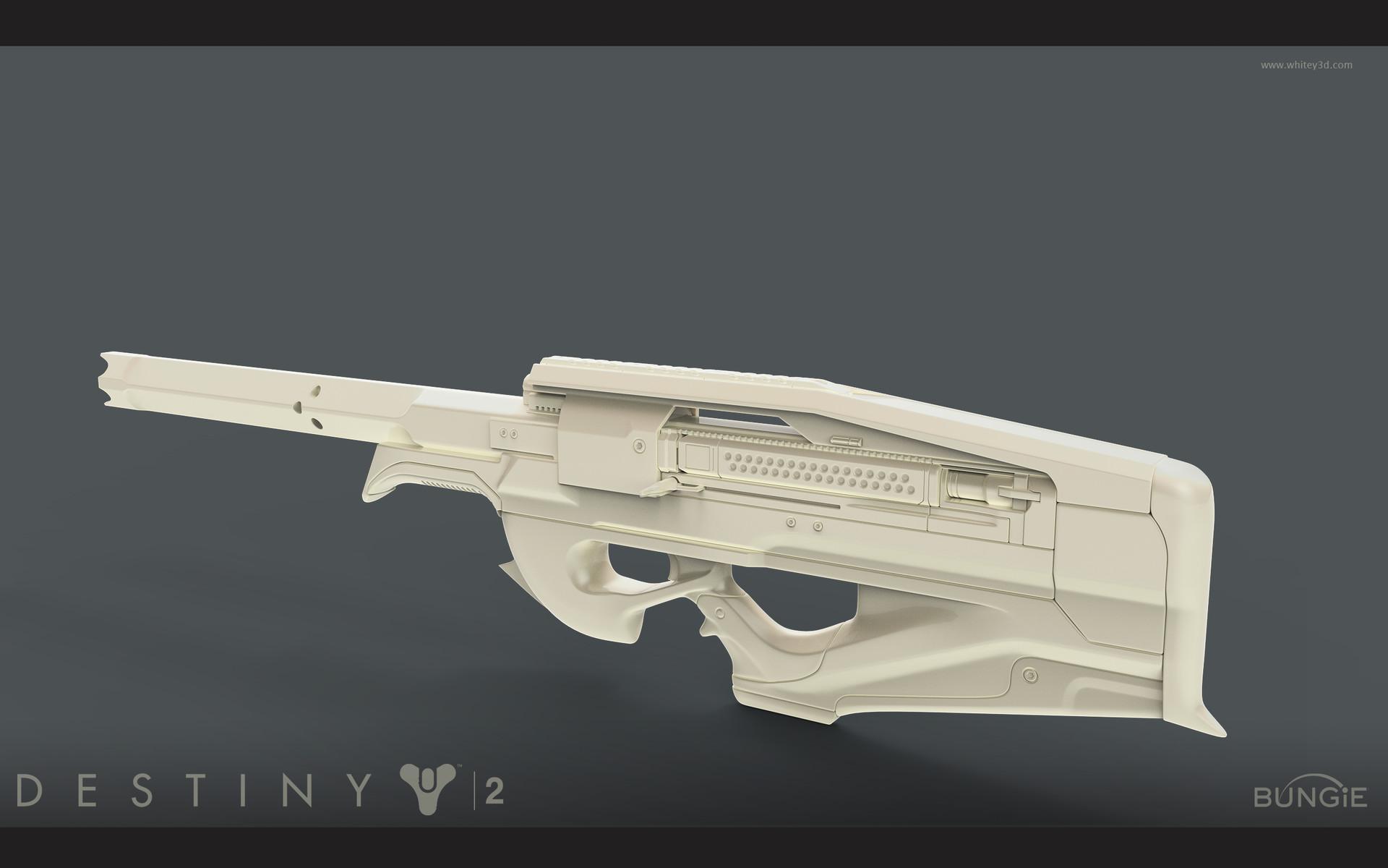 Artstation - Destiny 2 Black Scorpion 4sr Jt White