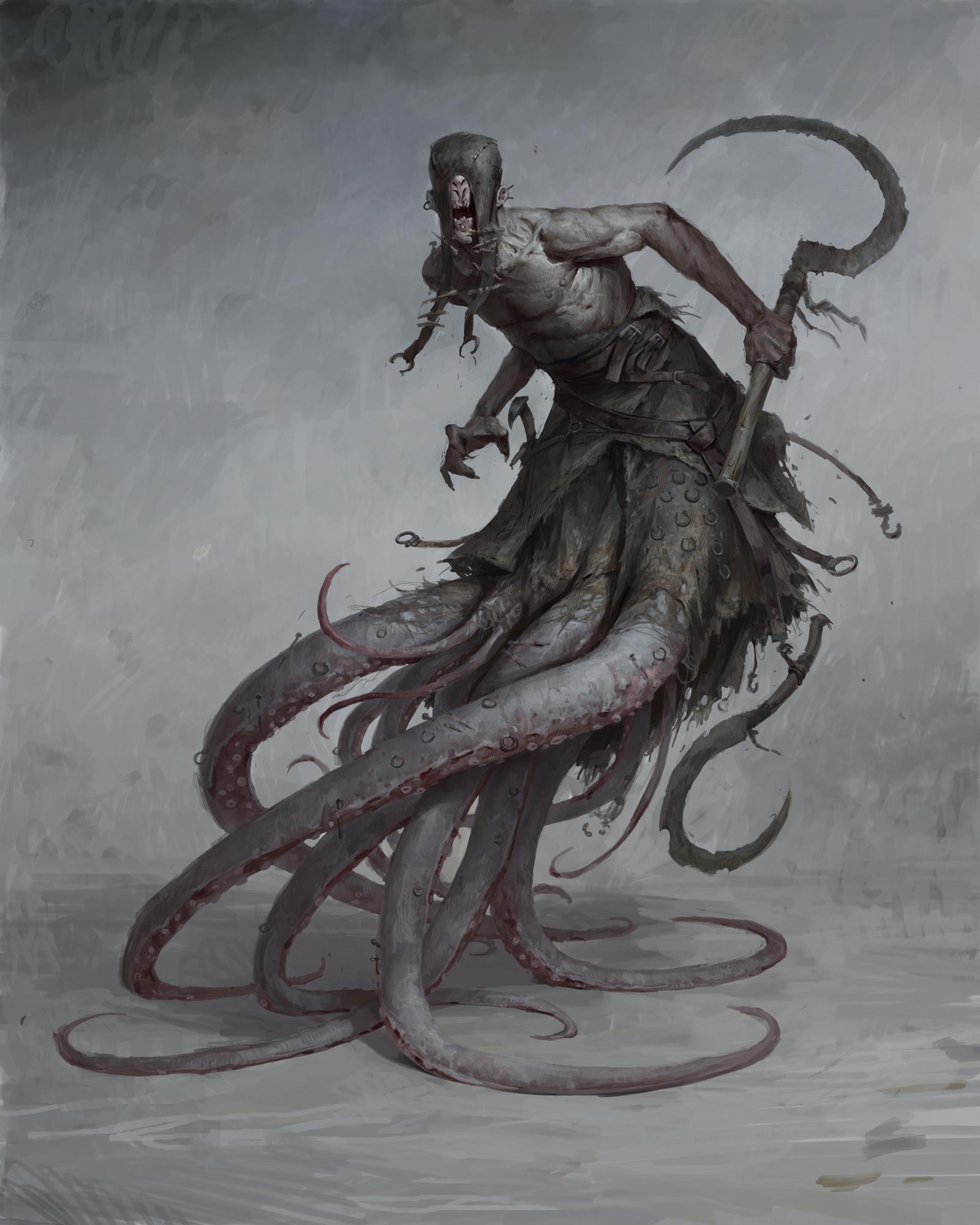 Horror Creature Concept Art