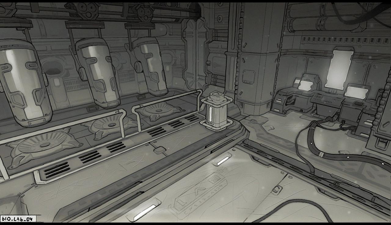 artstation sci fi lab