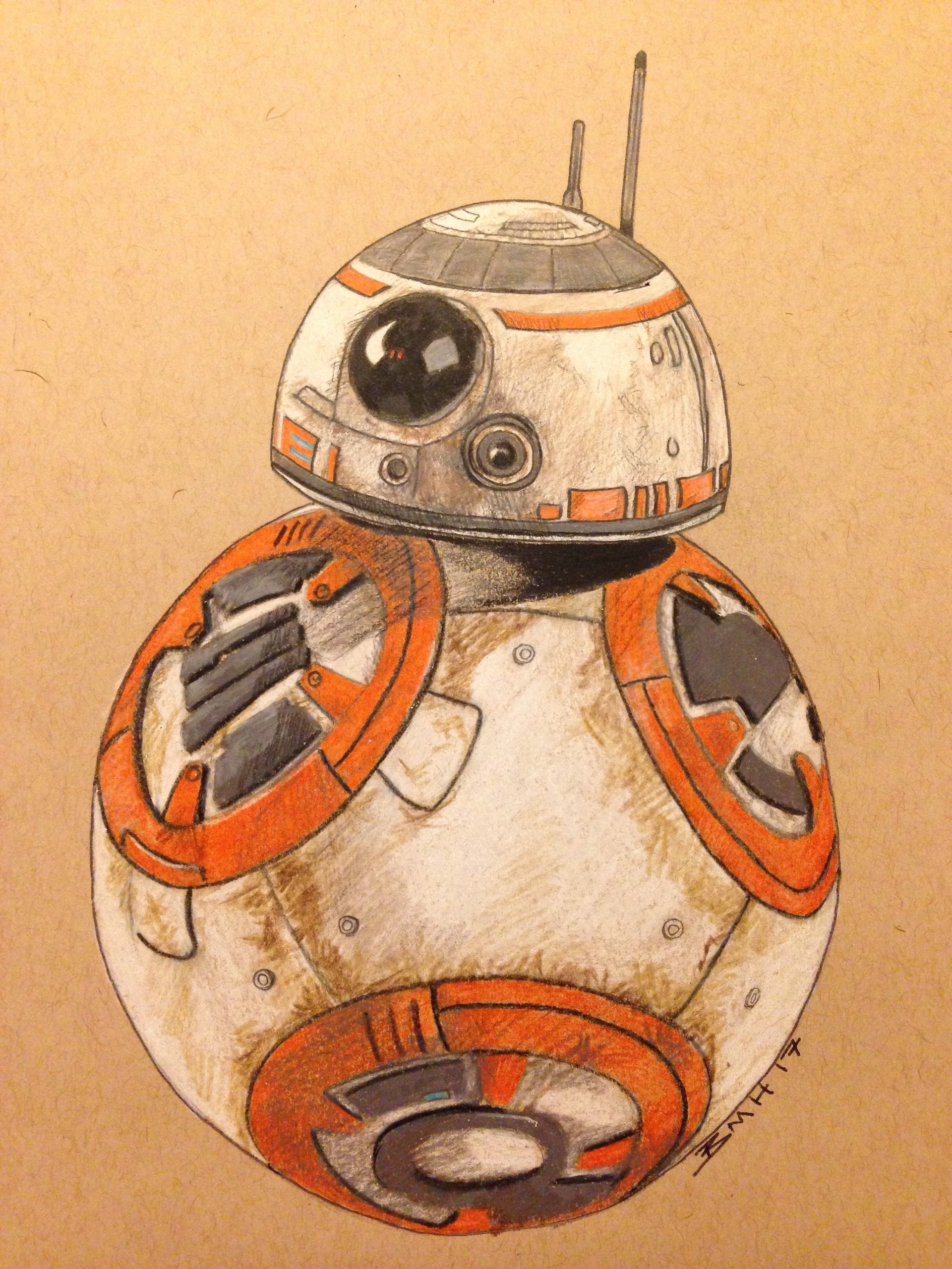 Bb8 Drawing : drawing, Bryan, Hoover, Drawing
