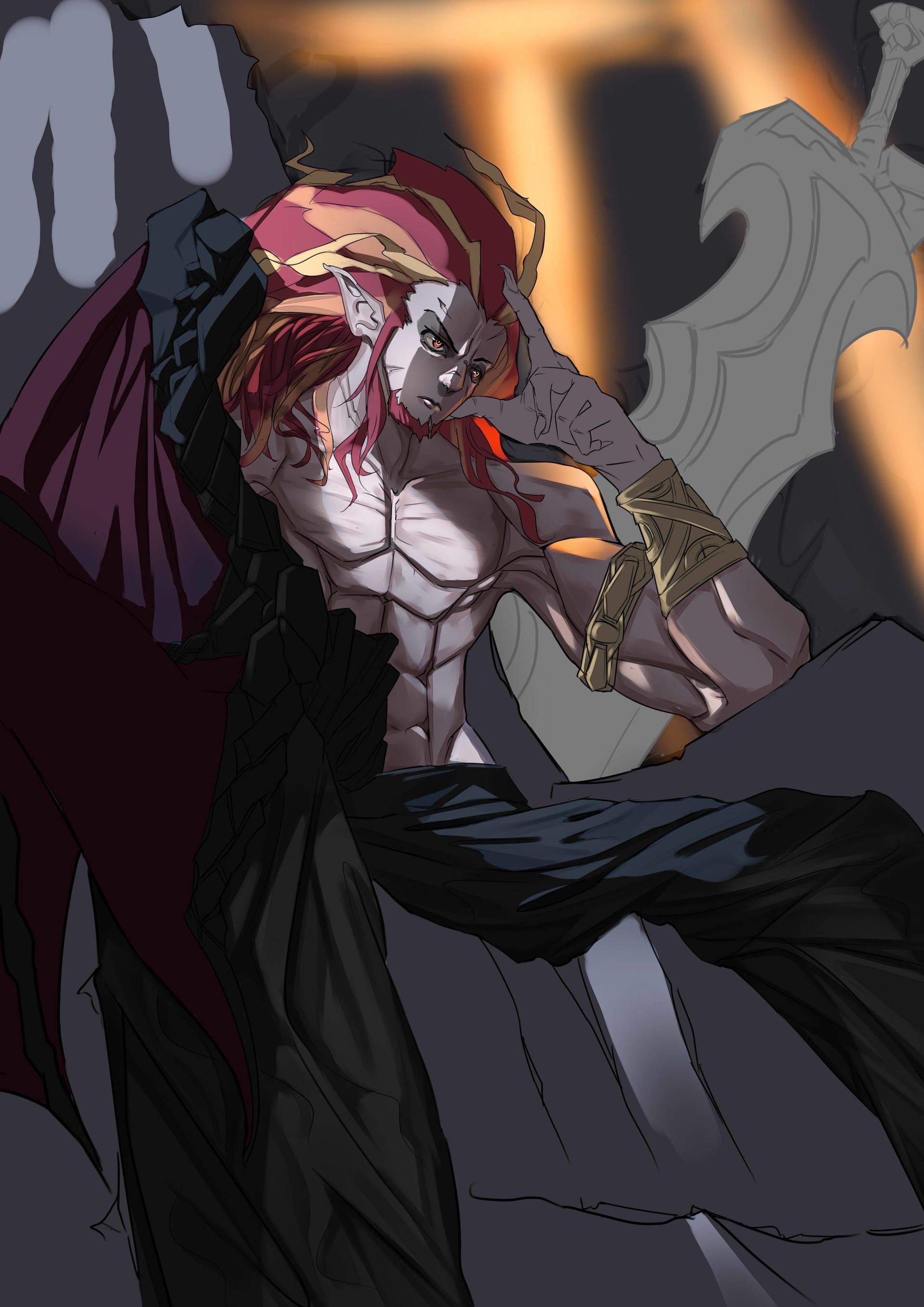 harry hidayat  Dragon king human form