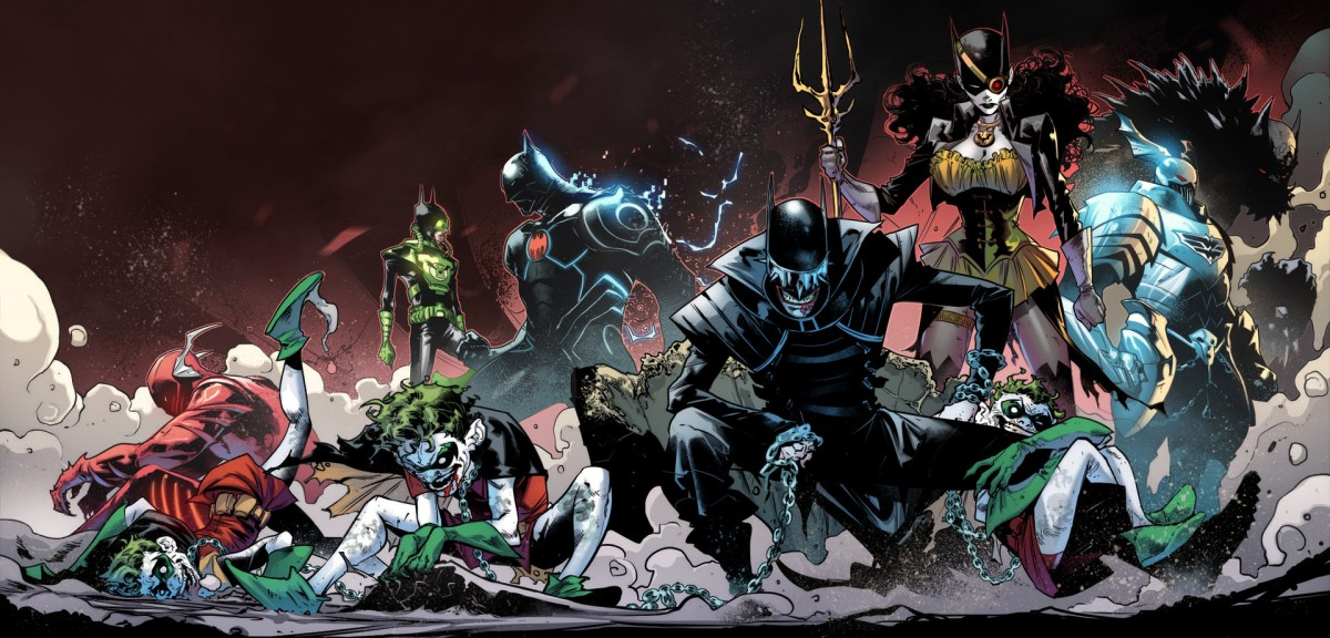 The Dark Knights from DC Comics  Dark Nights Metal Event.