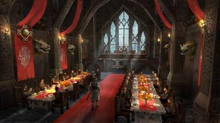 ArtStation Norse Viking Inspired Throne Room Ruedy Stacher
