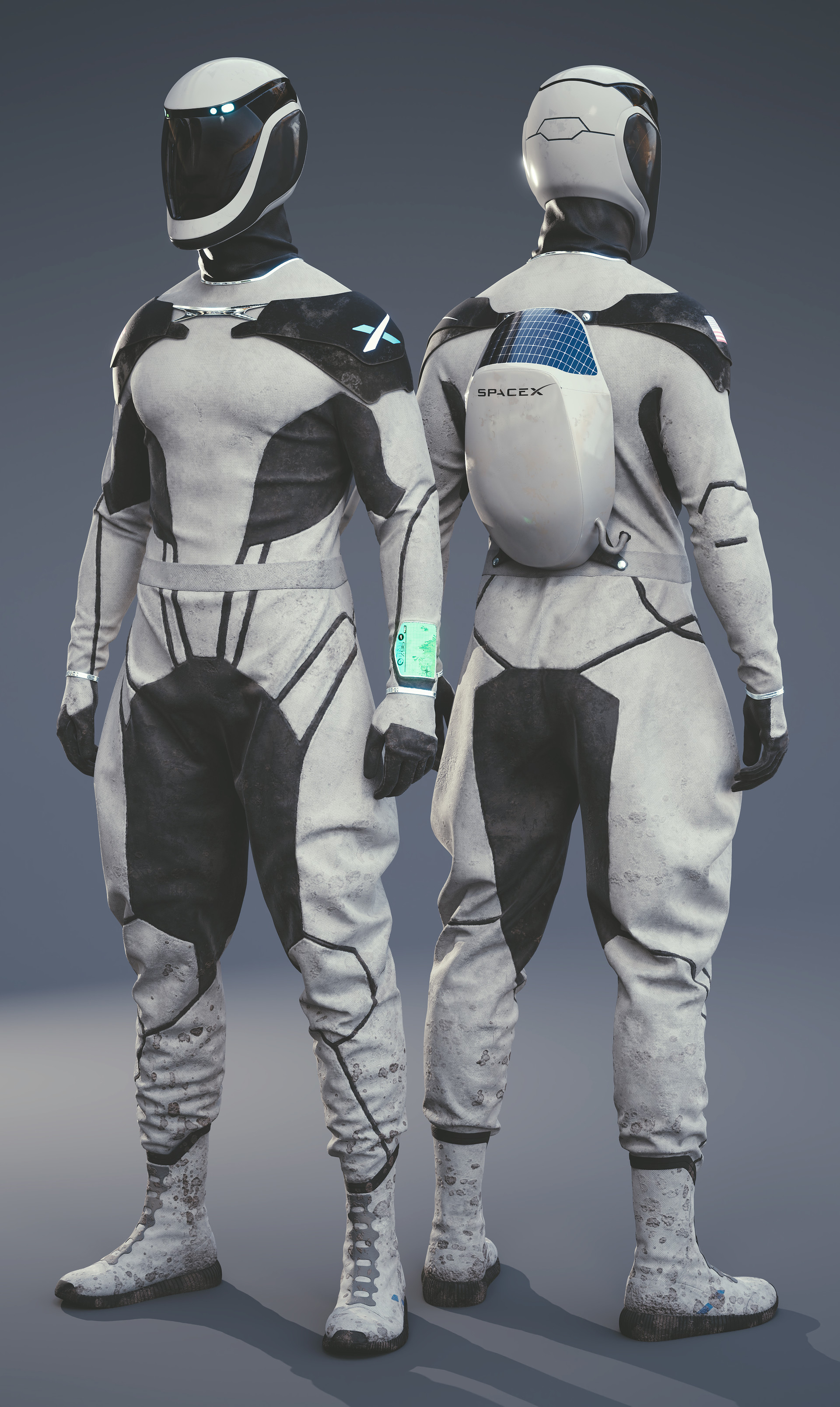 Lucas Valle Spacex Space Suit Concept