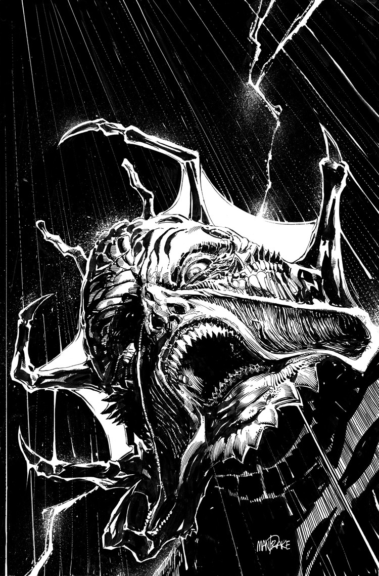 ArtStation  JEEPERS CREEPERS COVER Tom Mandrake